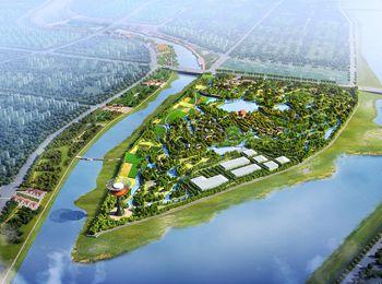 江油靛池湿地公园