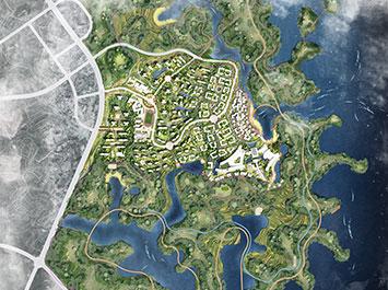 万宸 · 简阳三岔湖城市设计